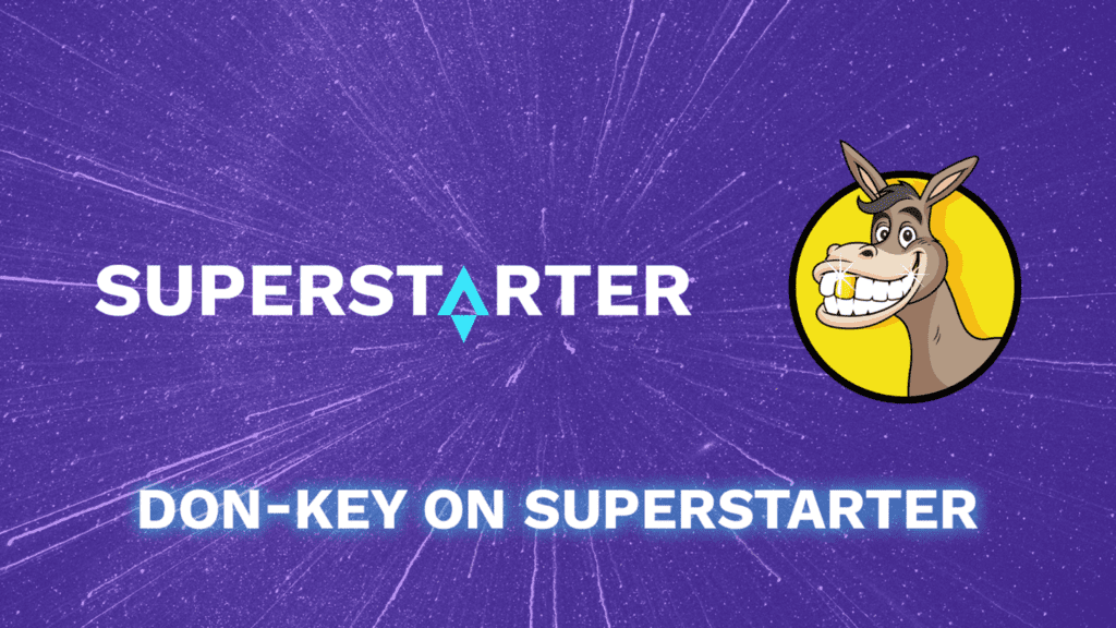 Announcing the Next Top-Tier Project Launching on SuperStarter: Don-key - NFT News Today
