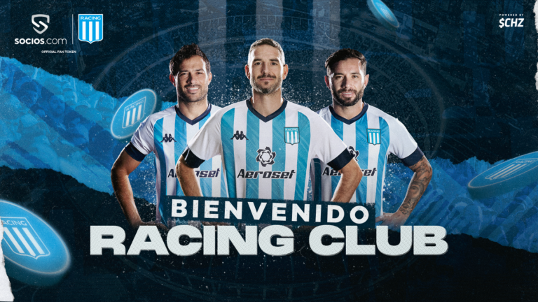 RACING CLUB PARTNERS WITH CHILIZ TO LAUNCH ITS OFFICIAL FAN TOKEN ON SOCIOS.COM
